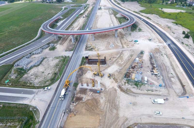 Budowa drogi ekspresowej S17 na trasie Warszawa - Garwolin