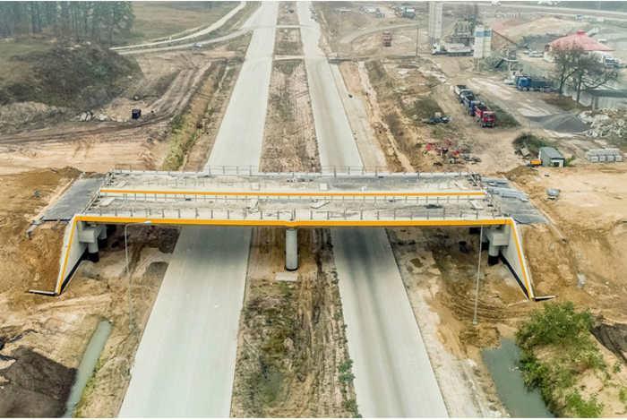 Budowa drogi ekspresowej S17 odcinek Kurów - Skrudki