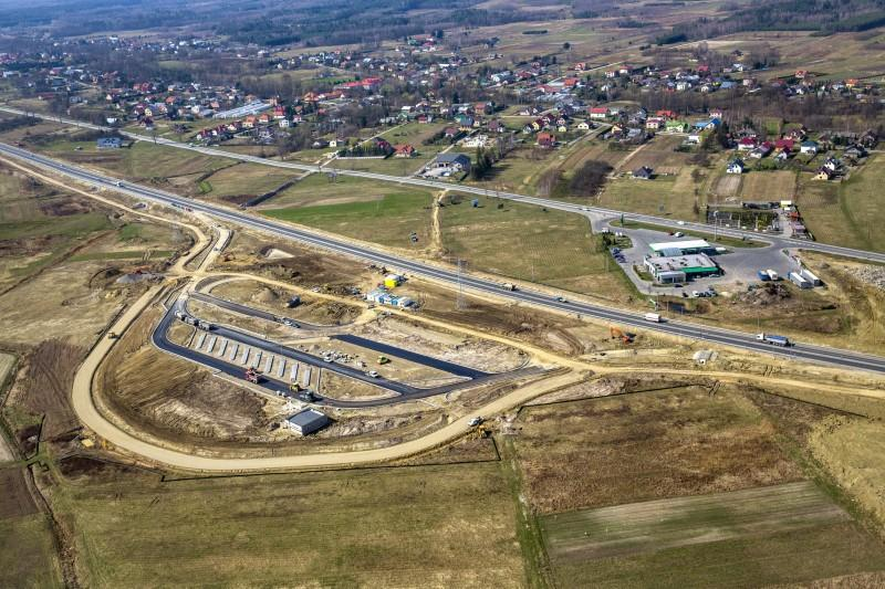 Postęp prac na budowie S19 Sokołów Młp. - Stobierna