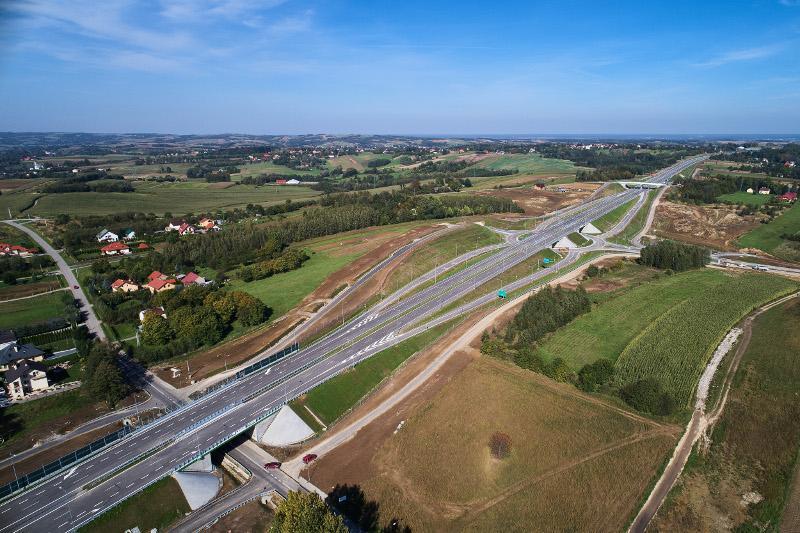 Odcinek drogi ekspresowej S19 Świlcza - Rzeszów to część obwodnicy Rzeszowa