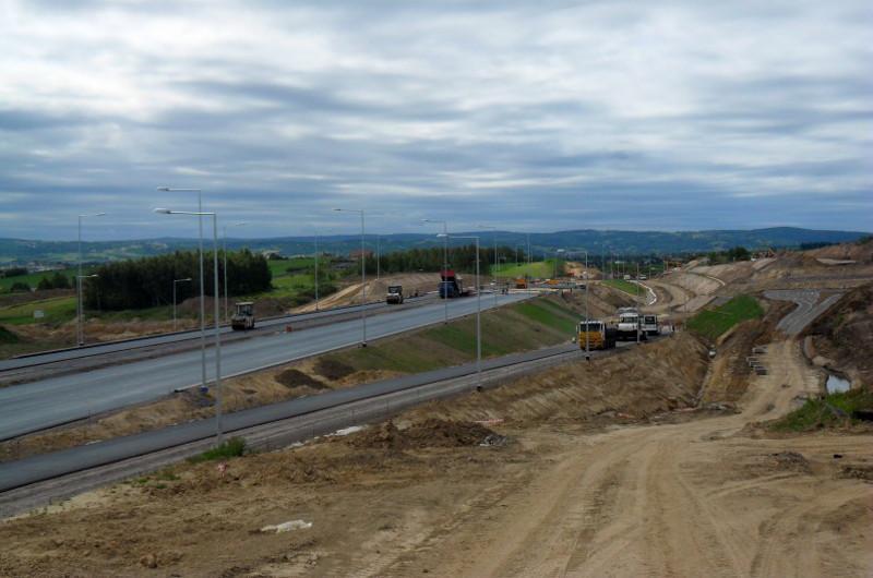 Droga ekspresowa S19 Świlcza - Rzeszów w budowie
