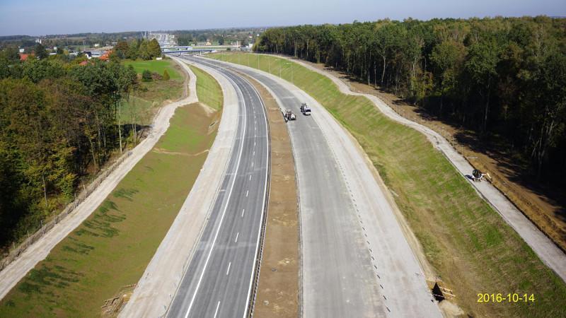 Droga ekspresowa S19 na odcinku zachodniej obwodnicy Lublina
