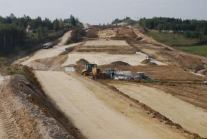 Na budowie odcinka S19 Świlcza -  Rzeszów Południe