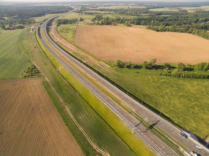 S3 Polkowice – Lubin gotowa wiosną 2019 r., przejezdna w tym roku?