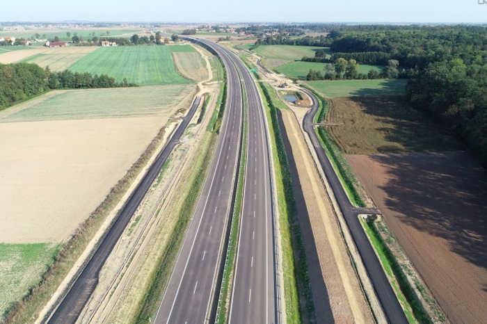 Nowy odcinek drogi ekspresowej S3 Legnica - Boków czekający na otwarcie