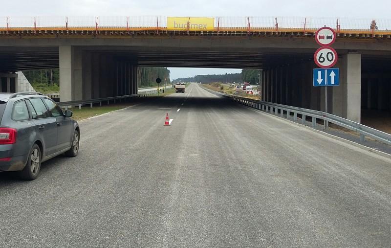 Nowa jezdnia drogi ekspresowej S3 Legnica - Lubin