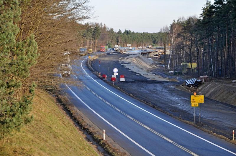 Budowa drogi ekspresowej S3 Zielona Góra - Niedoradz