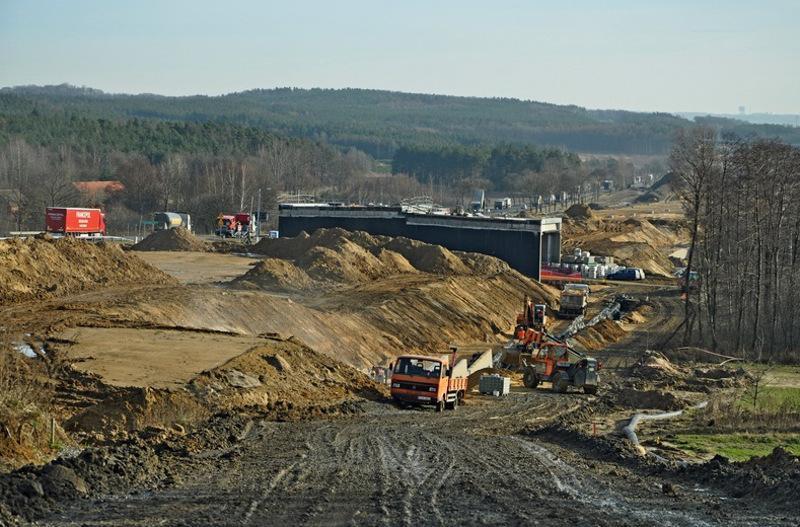 Budowa drogi ekspresowej S3 Gaworzyce - Kaźmierzów