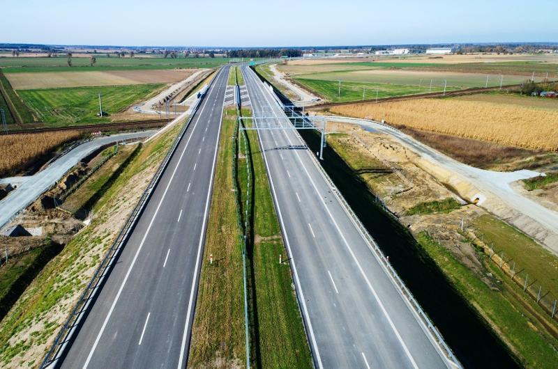 Strabag zakończył budowę 15-km odcinka drogi S5