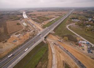 Budowa S5: Nową drogą przy węźle Trzebnica