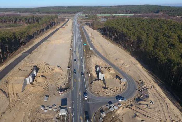 Budowa drogi ekspresowej S5 - odcinek w okolicy autostrady A1