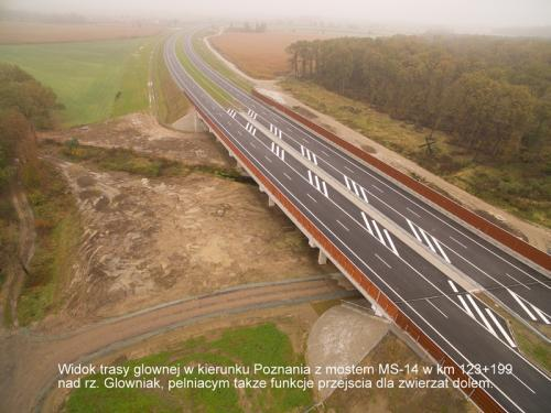 Nowe kilometry drogi ekspresowej S5 z lotu ptaka