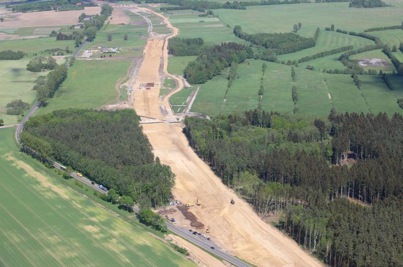 Dziewięć firm walczy o budowę S6 Szemud - Gdynia