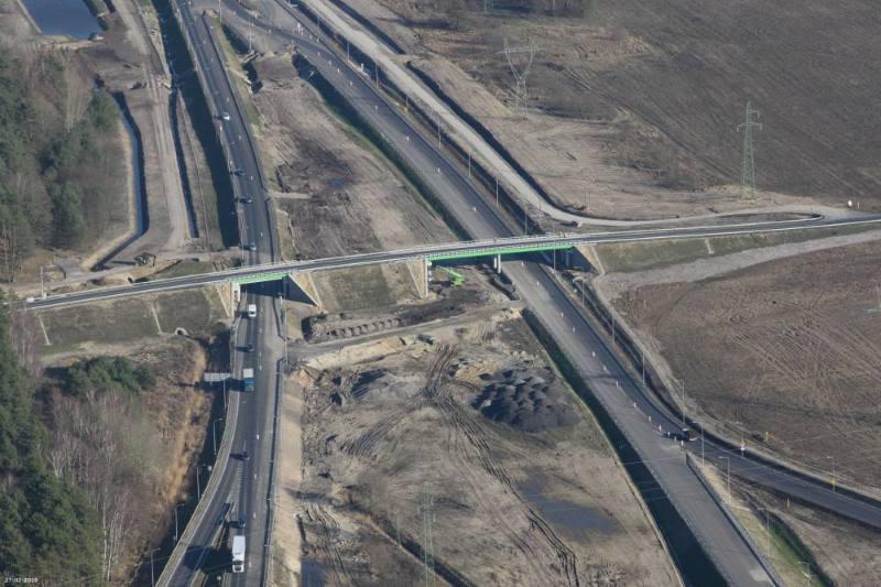 Zaawansowanie prac na drodze ekspresowej S6 Goleniów - Koszalin