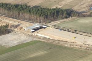 Budowa S7 - zmiana na DW762 do Chęcin i Małogoszczy