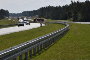 Węzeł Miłomłyn w ciągu przyszłej drogi ekspresowej S7 oddany do ruchu