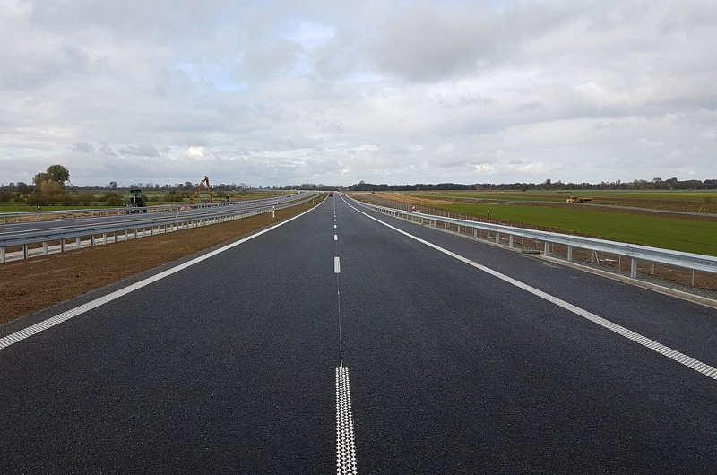 Otwarcie drogi ekspresowej S7 na Zuławach zaplanowano na 31.10.2018