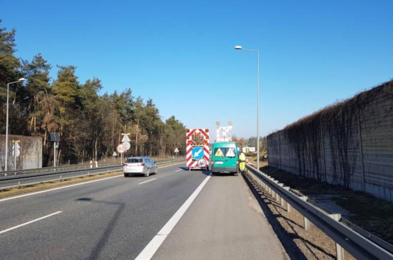 Prace przy budowie drogi ekspresowej S7 z Warszawy do Grójca będą powodować utrudnienia w ruchu