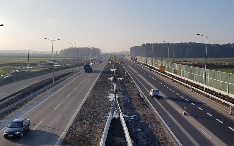 DRoga ekspresowa S8 Warszawa - Białystok