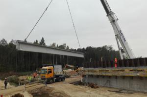Budowa S8: Nocne utrudnienia na DK8 Wyszków – Poręba