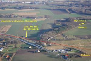 S6 Goleniów - Nowogard - przebieg drogi ekspresowej