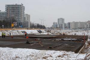 Obwodnica Warszawy: Budowa S2 na Ursynowie również zimą