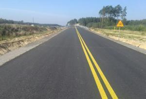 Budowa S3: Uwaga! Jedziemy tymczasową drogą w okolicy Polkowic