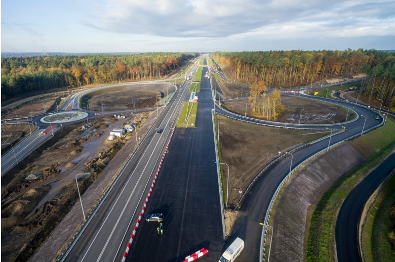 Rok 2016 na Warmii i Mazurach pod znakiem budowy dróg S7, S51 i obwodnicy Olsztyna