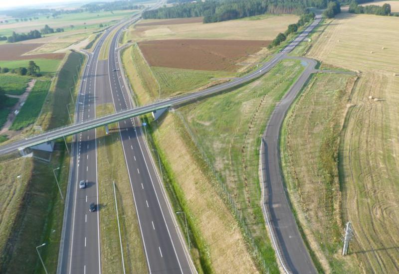 Droga ekspresowa S7 w woj. warmińsko-mazurskim