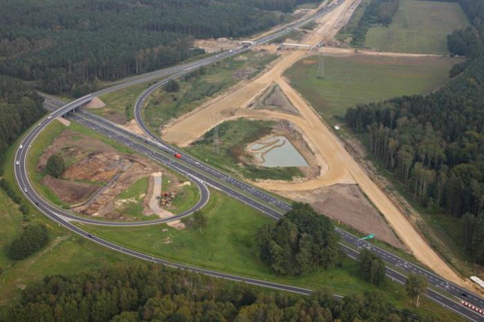 Budowa S6: Utrudnienia na węźle Goleniów Północ S3/DK6