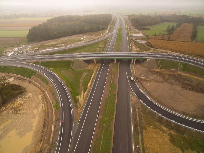 Cała droga ekspresowa S5 przez Dolny Śląsk dla kierowców!