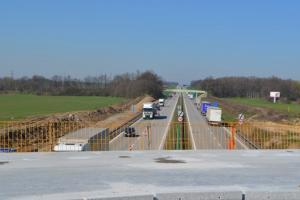 Węzeł Legnica Południe połączy S3 z autostradą A4 – zdjęcia z budowy