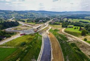 Zakopianka: Pierwszy wiadukt na S7 Lubień – Rabka Zdrój otwarty