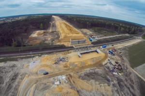 Obwodnica Kępna w ciągu drogi S11 - budowa I etapu