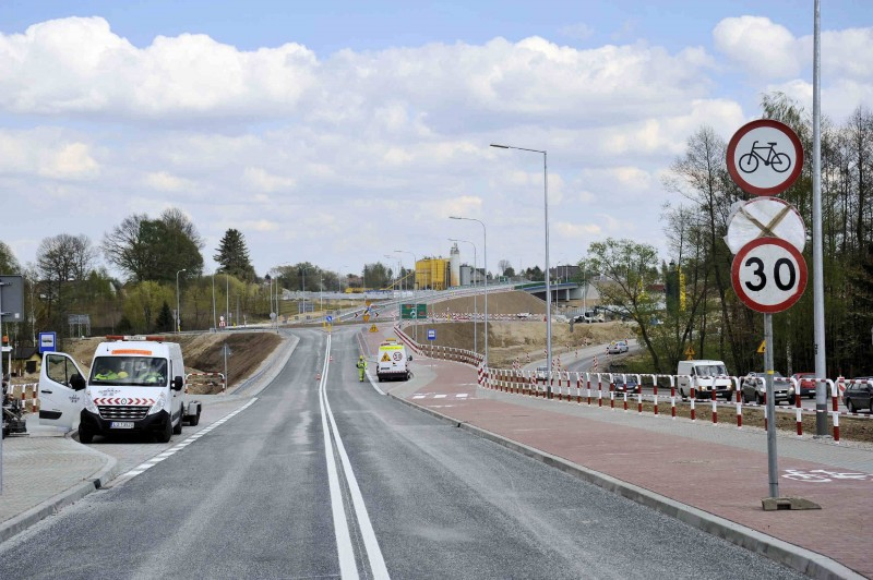 S19: Dwa wiadukty nad zachodnią obwodnicą Lublina pod ruchem