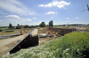 Budowa S19: Już połowa wiaduktu nad zachodnią obwodnicą Lublina