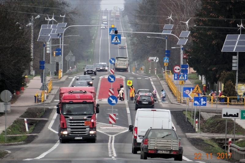 Przebudowa drogi krajowej DK17 w miejscowości Stary Zamość