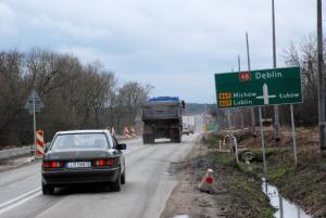Lubelskie: Prawie dwa lata potrwa rozbudowa DK48 koło Kocka