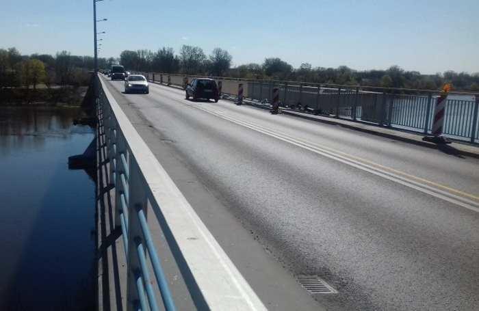 Most przez Narew w ciągu DK85 w Nowym Dworze Maz.