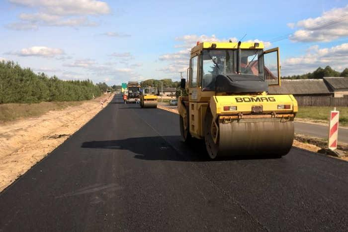 Droga lkrajowa DK48 z Dęblina do Kocka jest gruntownie przebudowywana