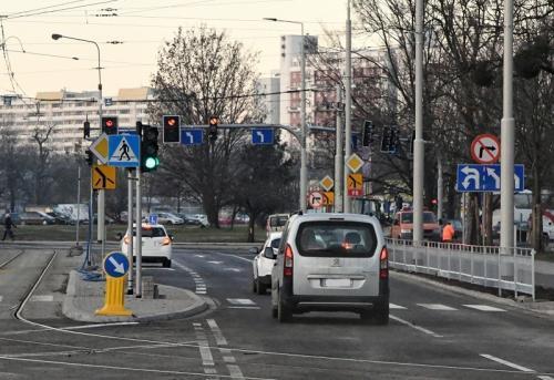DK98: Ul. Dyrekcyjna we Wrocławiu przejezdna