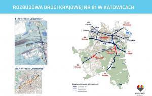 Ponad 450 mln zł dofinansowania na połączenie DK81 z A4 Katowicach