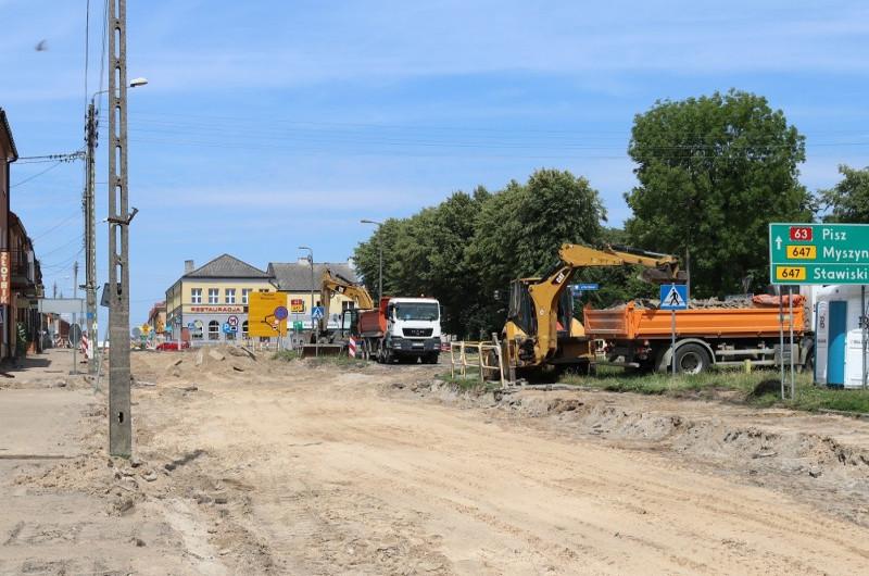 Podlasie: DK63 w Kolnie będzie jak nowa