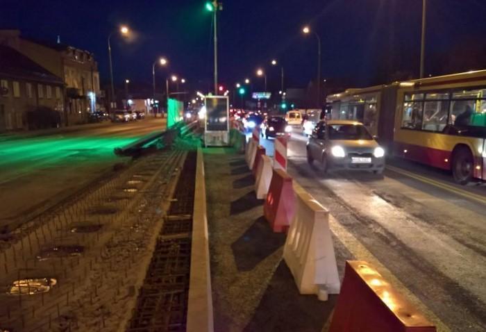 Remont drogi krajowej nr 8 w Markach