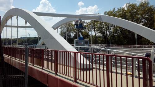 Małopolskie: Kierowcy jeżdżą nowym mostem w Brzesku na DK75