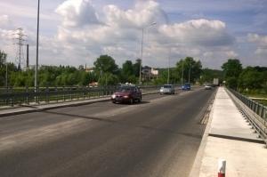 DK28: Na długi weekend udrożniono ruch na moście w Jaśle