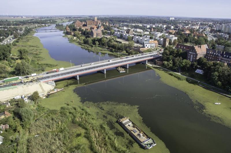 Nowy odcinek drugiej jezdni DK22 w Malborku dla kierowców