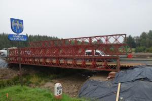 Małopolskie: Tymczasowym mostem na DK7 w Szczepanowicach