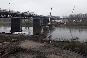 Remont mostu na DK11 w Obornikach – powstaje most tymczasowy