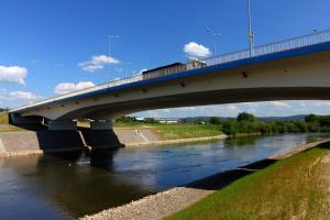 DK28: Wznowiono remont mostu w Jaśle